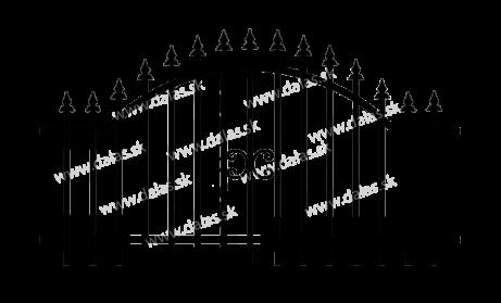 Kovaná výplň A1