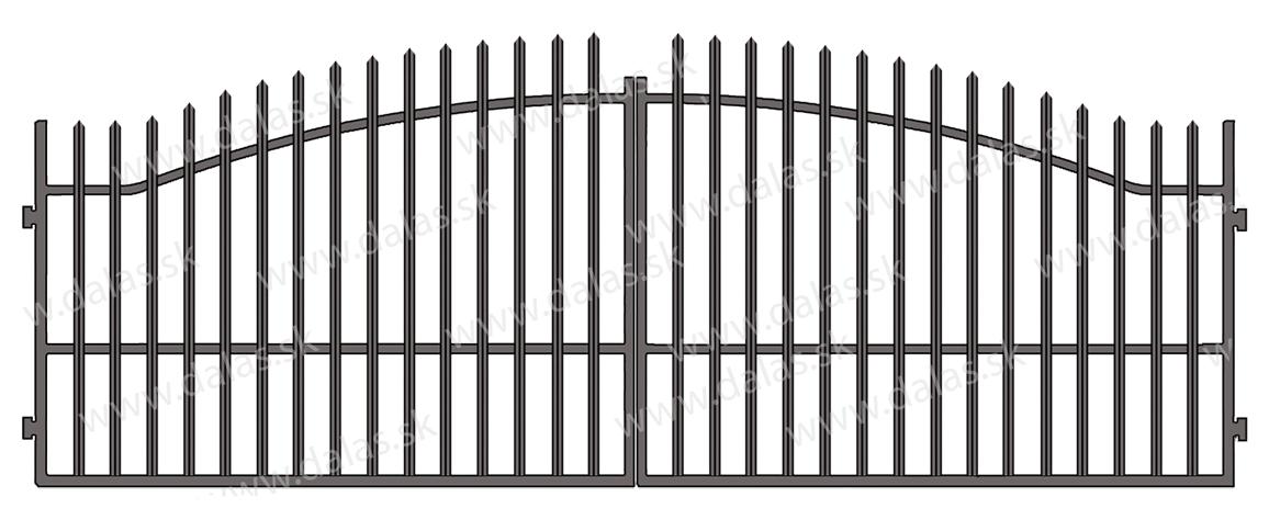 Kovová brána V