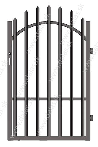 Kovová bránka V