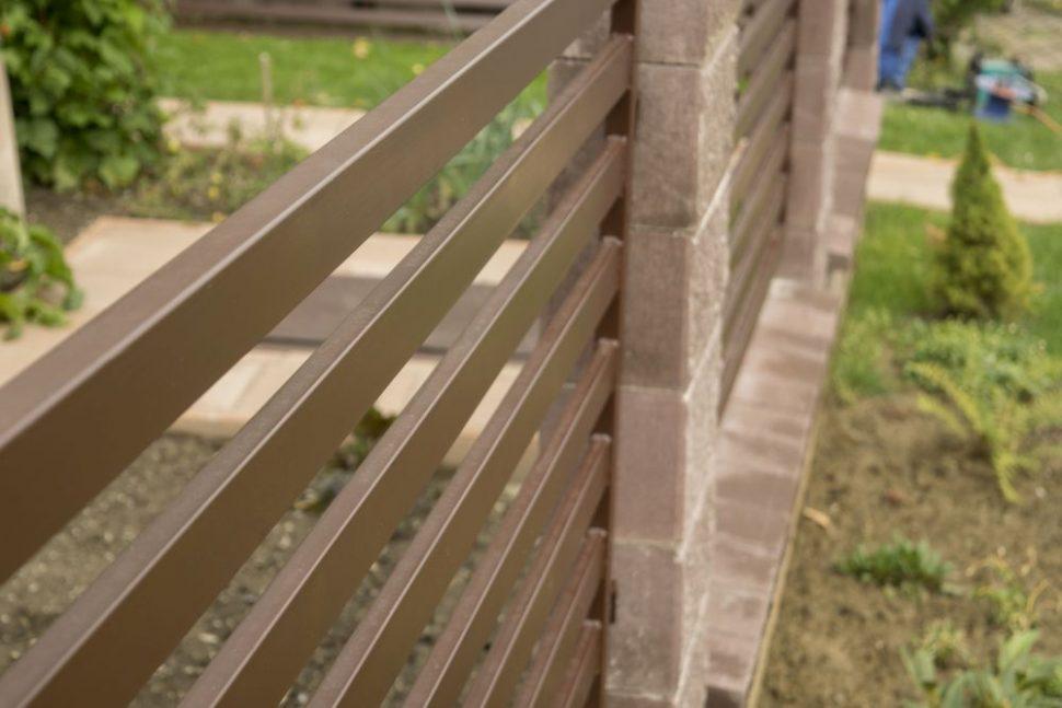 ploche kovové ploty